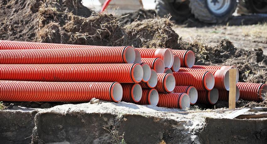 Труби каналізаційні для зовнішньої каналізації: будівництво комунікацій