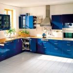 Дизайн синьої кухні: ідеальний колір інтер'єру для мрійливих людей