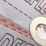 Скотч для пароізоляції: порівняльний огляд сполучних стрічок
