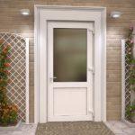 Металлопластиковые двери и их виды