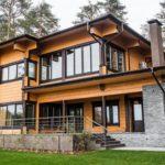 Дома из клееного бруса и их преимущества