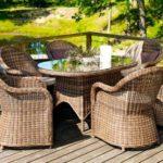 Выбор мебели для террасы вашего дома