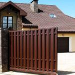Особенности видов откатных ворот, преимущества использования