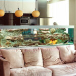 Как красиво обустроить аквариум