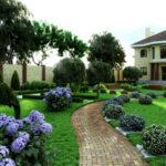 Ландшафтний дизайн подвір'я та його елементи