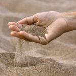 Производственный процесс изготовления песка