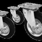 Виды колес для тележек и их правильный выбор