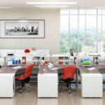 Цвета и организация пространства в современном офисе