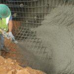 Как наносить торкрет-бетонную смесь: стадии