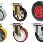 Виды колес для тележек и их особенности