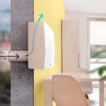 Функциональное устройство для обеспечения приточной вентиляции