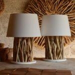 Деревянная настольная лампа: изысканность в простоте
