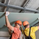 Плюсы каркасной звукоизоляции потолка