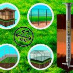 Винтовые сваи: надежная, удобная и практичная опора для ограды